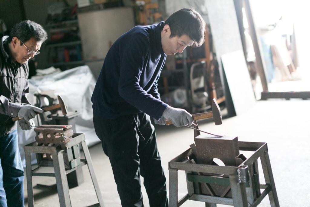 ときがわ町:鍛鉄アーティスト